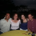 Oliver, Beth, Sheila, Nathan in Negril
