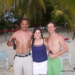 Oliver, Sheila, Nathan in Negril